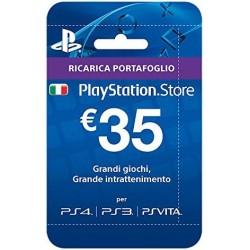 Ricarica Portafoglio 35 €...
