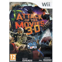 Attack of the Movies 3-D -...