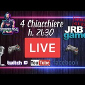 Questa sera saremo live con gli amici di Videogames News Italia sul loro canale Twitch per fare 4 chiacchiere assieme.  Potrete seguire la live anche dalla loro pagina Facebook.  Vi aspettiamo dalle 21.30 in avanti!