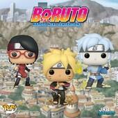 Finalmente disponibili i Funko POP! di Boruto!
