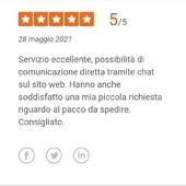 Sono recensioni come queste che ci spingono sempre a dare il massimo per migliorare noi stessi e il servizio che offriamo ai nostri clienti. 💙