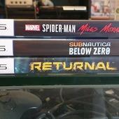 Appena entrati usati, per PS5!  Miles Morales 29.99€ Returnal 44.99€ Subnautica Below Zero 19.99€