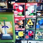 Sono finalmente arrivate le nuove lampade 😊 ZELDA, SUPER MARIO e PAC MAN 😉