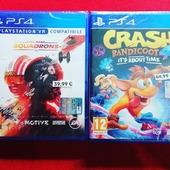 Finalmente disponibili, Crash Bandicoot 4 e Star Wars Squadrons 😉