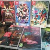 Un po' di chicche per Nintendo Switch, arrivate giusto oggi 😊
